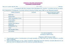 9 free sample income certificate templates u2013 printable samples