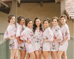 bridesmaids robes cheap bridesmaid gifts robes curated by wedding forward on etsy