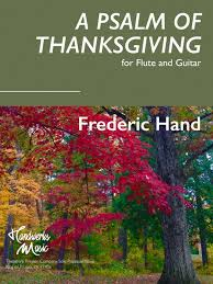 happy thanksgiving enjoy frederic s a psalm of thanksgiving