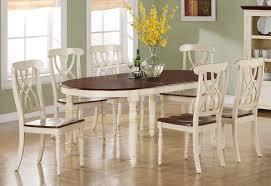 White Dining Room Sets - Ohana white round dining room set