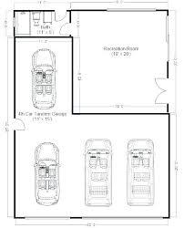 4 car garage size two car garage dimensions home interior d898 info