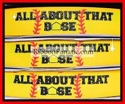 softball ribbon by the yard 32 best softball and baseball ribbons images on baseball