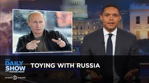 Trevor Noah Memes - toying with russia the daily show youtube