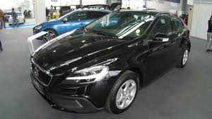 volvo hatchback interior volvo v40 cross country d2 black colour walkaround