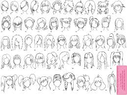Cute Anime Hairstyles Click Here For New Version Sketchy Stuff A Lot Of These