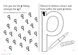 confusing letters b and d p and q i and j worksheets sparklebox