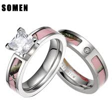 camo wedding ring sets jewelry rings wedding rings cheap pink camo ring sets for