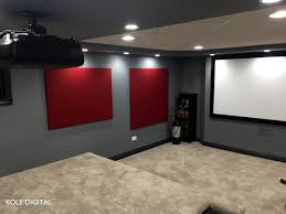 acoustic panels bring color theater digital