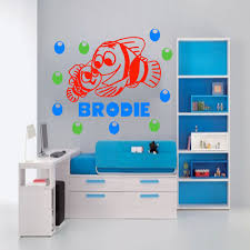 finding nemo wall decals for nursery color the walls of your house finding nemo wall decals for nursery finding nemo wall sticker personalized name decal fish aquarium