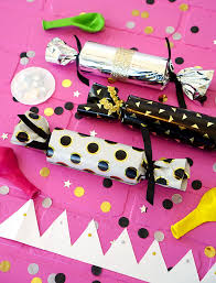 diy new year s crackers happiness is