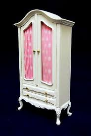 white shabby chic dolls house furniture at melody jane dolls