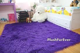 rug purple fur rug nbacanotte u0027s rugs ideas