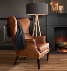 Cavett Leather Chair Leather Chair Ira Design