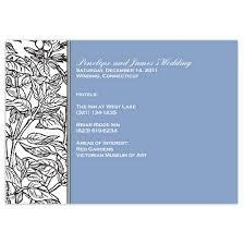 enclosure cards plant pattern pacific 3 5x5 wedding enclosure cards