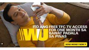 get free tfc access for sending money through western union money