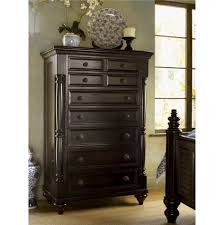 Tall Home Decor Furniture Dark Stained Tall Chest Furniture With 9 Drawers Of