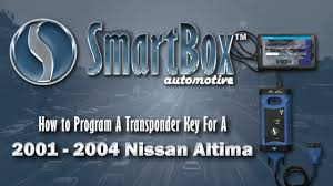 nissan maxima idle relearn how to program a transponder key to a 2001 2004 nissan altima