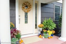 Fall Decorating Ideas For Front Porch - front door decorating ideas
