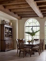 kincaid furniture portolone trestle table dining room set