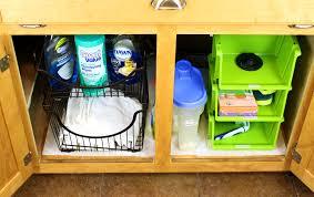 under sinks amazing under the kitchen sink organization and pallet