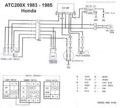honda trx 200 wiring diagram lefuro com