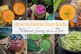8 tips how to detox your body without dieting