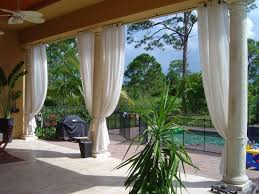 outdoor patio blinds and curtains design and ideas