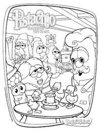 veggie tales pistachio boy woodn u0027t coloring pages