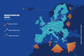 Labeled Map Of Europe Mafia And Organized Crime In Europe Il Fatto Quotidiano