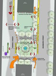 Chicago Traffic Map Printer U0027s Row Park Landscape Architecture Design