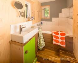 Scottish Bathroom Signs Retro Modern Scottish Tiny House Is All About Simple Comforts
