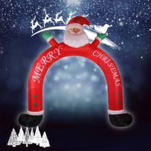 Cheap Blow Up Christmas Decorations by Popular Inflatable Christmas Archway Buy Cheap Inflatable