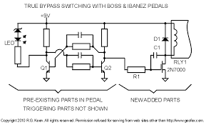 true bypass with latching relays