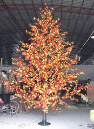 led outdoor landscape l led artificial tree maple