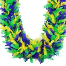 mardi gras feather boas fancy feather boas for your masquerade party costume