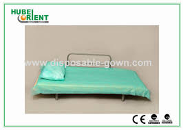 Hospital Couch Bed Blue Disposable Non Woven Bed Sheets For Hospital Clinic Beauty