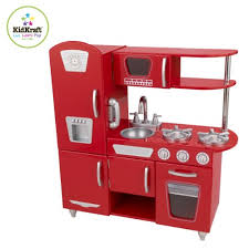 Childrens Wooden Kitchen Kidkraft by Amazon Com Red Retro Kitchen Toys U0026 Games