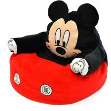 mickey mouse character figural toddler bean chair gift toy kid bedroom disney