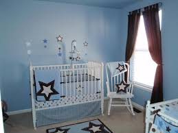 brown and blue home decor bedroom wooden cribs brown and blue blanket wooden rack rattan