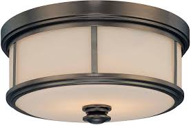 Ceiling Mounted Lights Minka Lavery 4365 281 Havard Ct Glass Flush Mount Lighting 2
