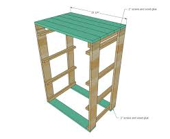 Ana White Free And Easy Diy Furniture Plans To Save You Money by Best 25 Pallet Dresser Ideas On Pinterest 2 Drawer Tower Unit