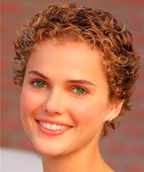curly short hairstyles for round faces hair style and color for