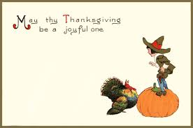 traditional thanksgiving day cards to make your special