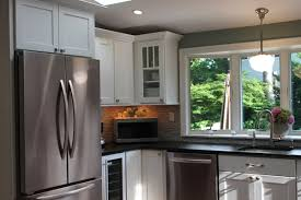 minneapolis deco moulding kitchen contemporary with white cabinets
