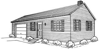 how to draw a ranch house howstuffworks