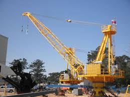 Pedestal Crane Lattice Boom Marine Crane Marine Crane Manufacturer Techcrane