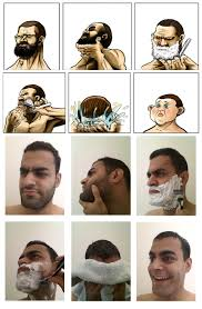 Baby Face Meme - my contribution to the whole shaving meme imgur