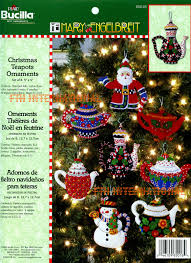 12 days of bucilla felt ornament kit 86066 fth studio