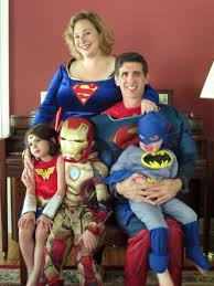 great family superhero costume idea kids pinterest