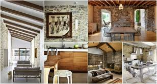 Stone On Walls Interior Interior Design Archives My Amazing Things
